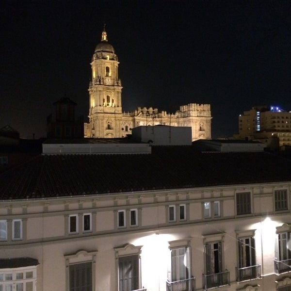 Photo taken at Hotel Room Mate Larios by Miguel Angel on 7/11/2014