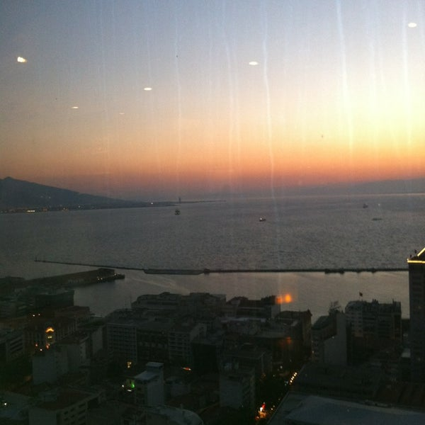 Photo taken at Hilton İzmir by Aysegul on 4/25/2013