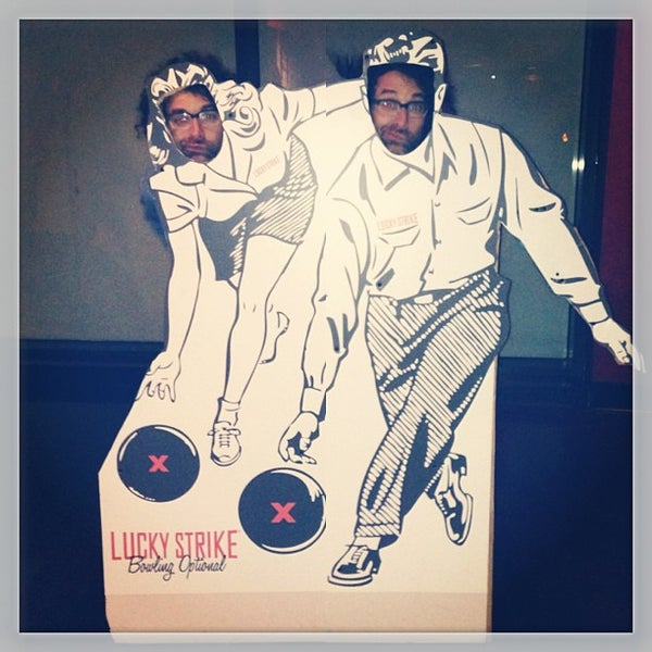 Photo taken at Lucky Strike New York by Harry B. on 1/25/2013