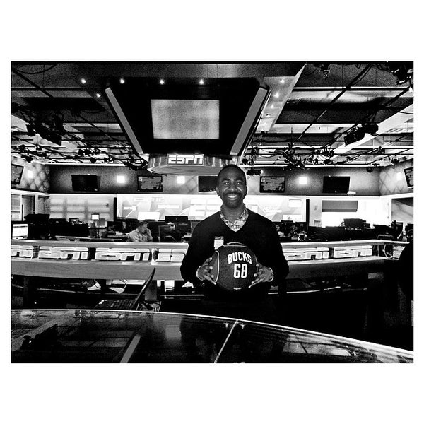 Photo taken at ESPN by Ali on 4/19/2014