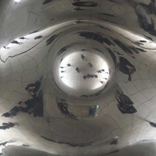 Photo taken at Cloud Gate by Ricci D. on 3/10/2014