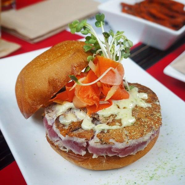 Photo taken at Umami Burger by Offalo O. on 4/26/2015
