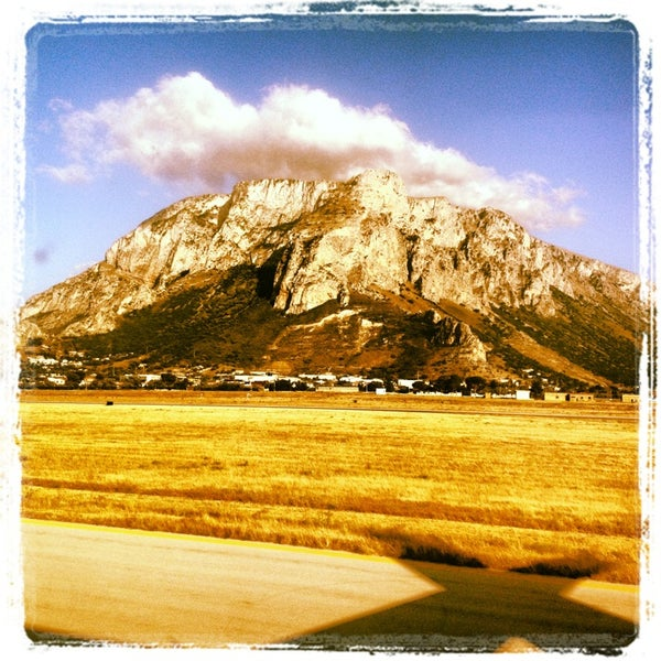 Photo taken at Palermo Airport (PMO) by Alessia on 6/3/2013