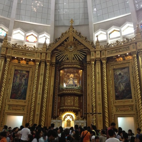 Photo taken at National Shrine of Our Lady of Peace and Good Voyage (Antipolo Cathedral) by Hertz A. on 12/2/2012