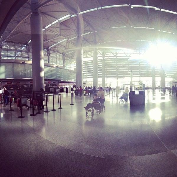 Photo taken at San Francisco International Airport (SFO) by Rick V. on 8/23/2013