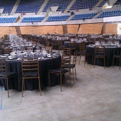 Photo taken at Palacio de los Deportes by Yohanna D. on 3/21/2013