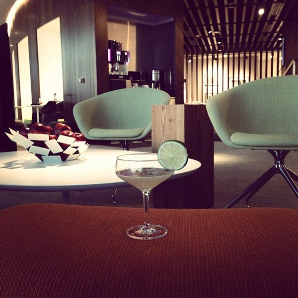 Photo taken at The Centurion Lounge by American Express by Eddy B. on 5/3/2013