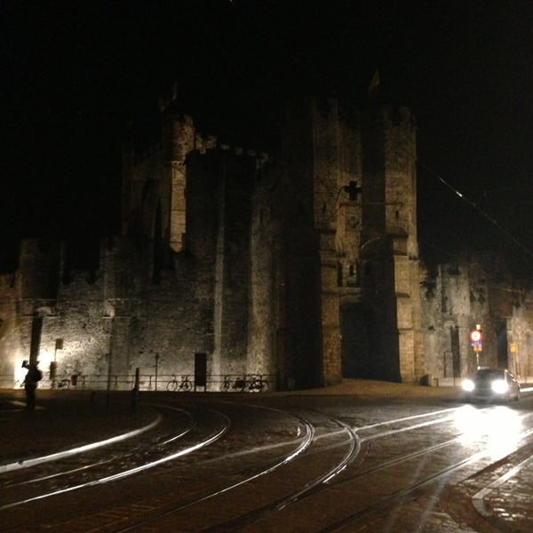 Photo taken at Gravensteen / Castle of the Counts by Olivier S. on 3/26/2013