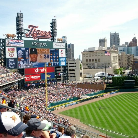 Photo taken at Comerica Park by T B. on 5/26/2013