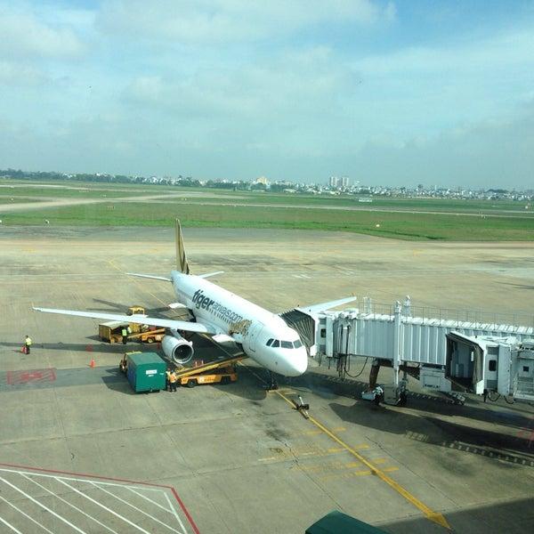 Photo taken at Tan Son Nhat International Airport (SGN) by Екатерина Ч. on 11/17/2013