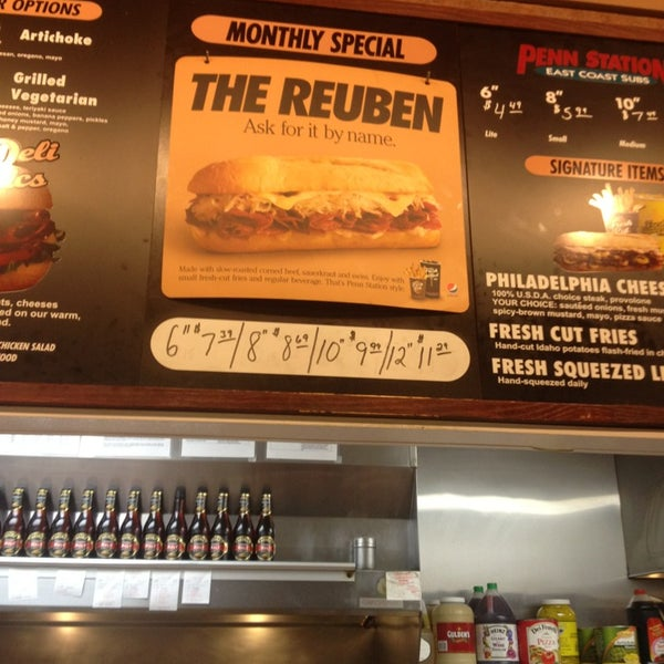 Photo taken at Penn Station East Coast Subs by Dominick W. on 2/2/2013
