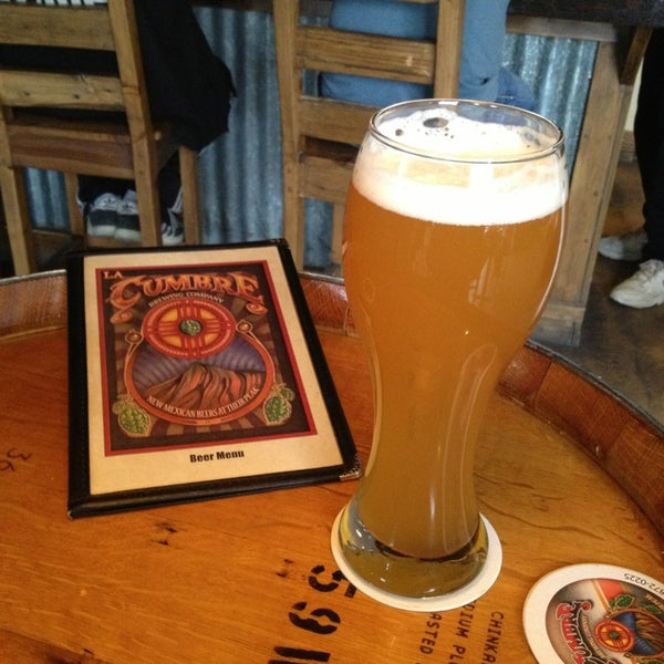 Photo taken at La Cumbre Brewing Company by Brad D. on 2/24/2013