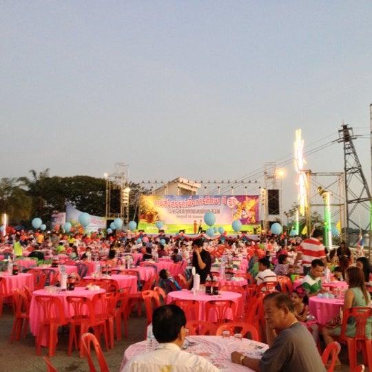 Photo taken at เข่ือนเรียงหิน by K@K on 12/28/2012