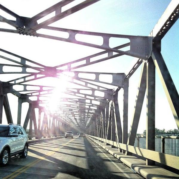 Photo taken at Rio Vista Bridge by Andy B. on 8/19/2013