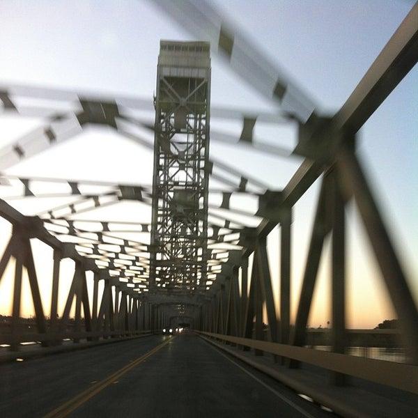 Photo taken at Rio Vista Bridge by Andy B. on 2/18/2013