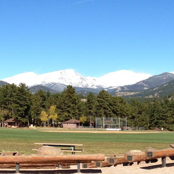Photo taken at YMCA of the Rockies by Dustin C. on 10/5/2013