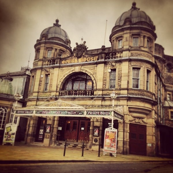 Photo taken at Buxton Opera House by Robert S. on 2/1/2014