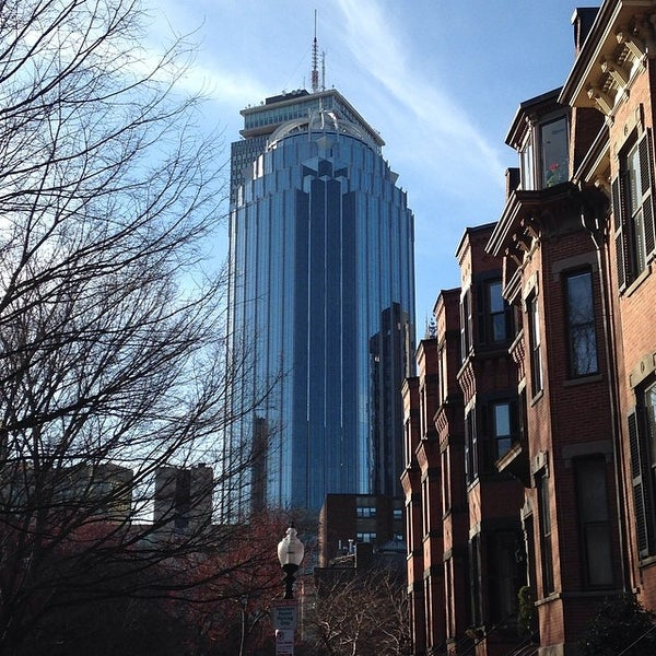 Photo taken at SW Corridor Park - Back Bay by James L. on 4/11/2014
