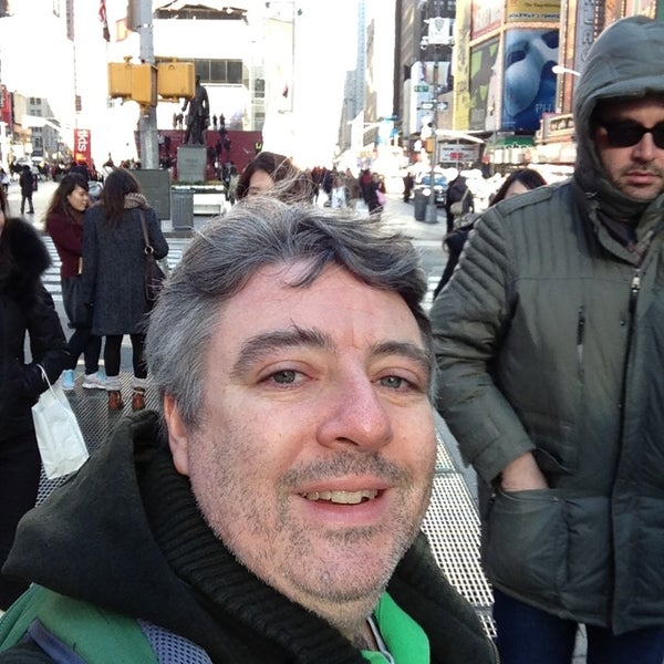 "Photo taken at Max Neuhaus ""Times Square"" by Kevin R. on 1/18/2013"