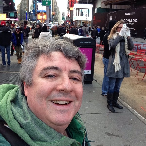 "Photo taken at Max Neuhaus ""Times Square"" by Kevin R. on 1/18/2014"