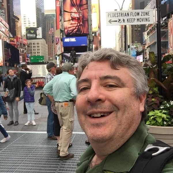 """Photo taken at Max Neuhaus """"Times Square"""" by Kevin R. on 10/3/2016"""