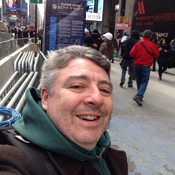 "Photo taken at Max Neuhaus ""Times Square"" by Kevin R. on 1/31/2014"