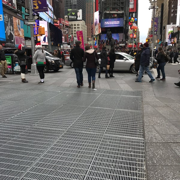 """Photo taken at Max Neuhaus """"Times Square"""" by Kevin R. on 12/10/2016"""