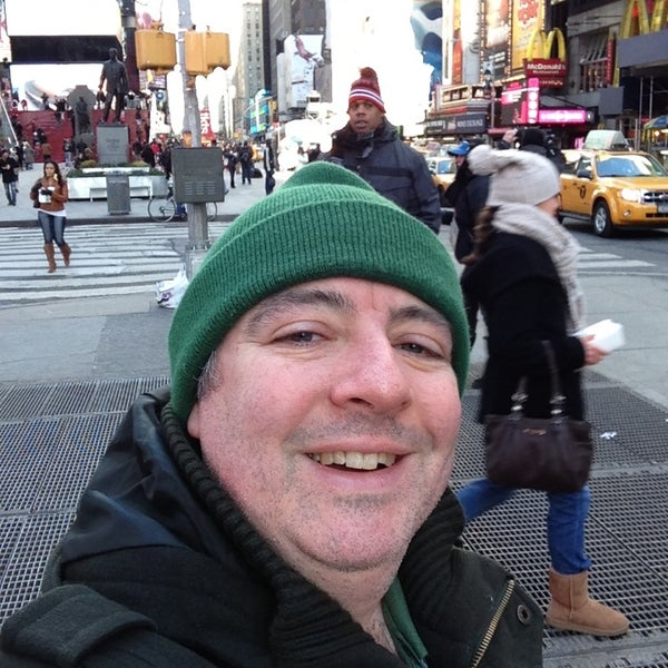 "Photo taken at Max Neuhaus ""Times Square"" by Kevin R. on 1/27/2013"