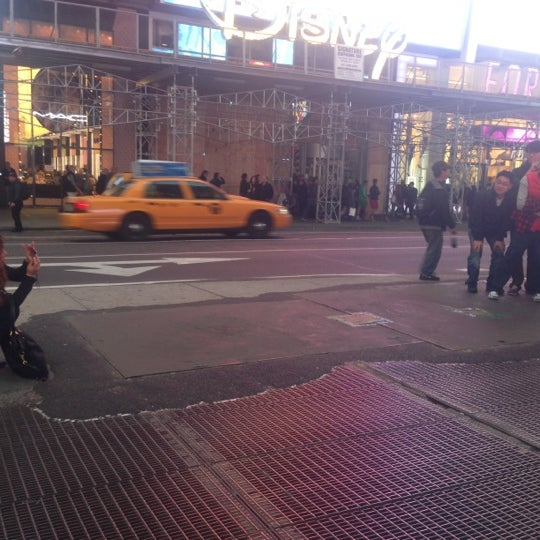 "Photo taken at Max Neuhaus ""Times Square"" by Kevin R. on 10/28/2012"