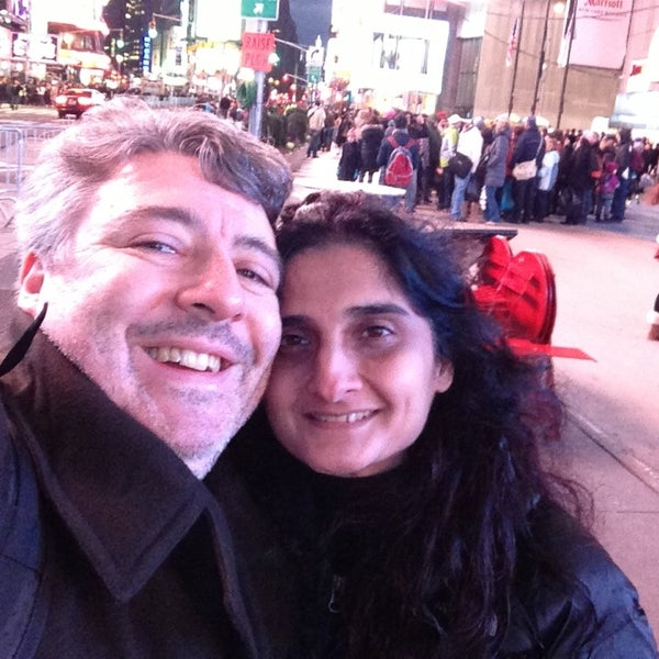 "Photo taken at Max Neuhaus ""Times Square"" by Kevin R. on 12/21/2012"