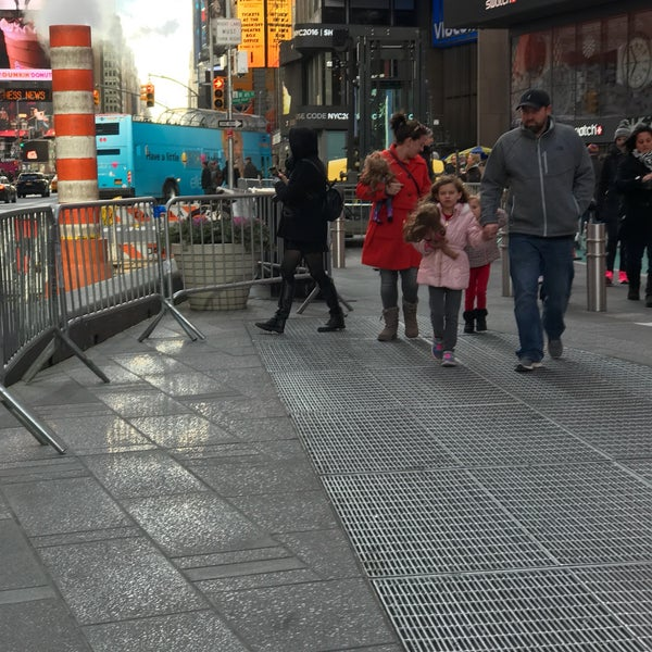 """Photo taken at Max Neuhaus """"Times Square"""" by Kevin R. on 12/9/2016"""