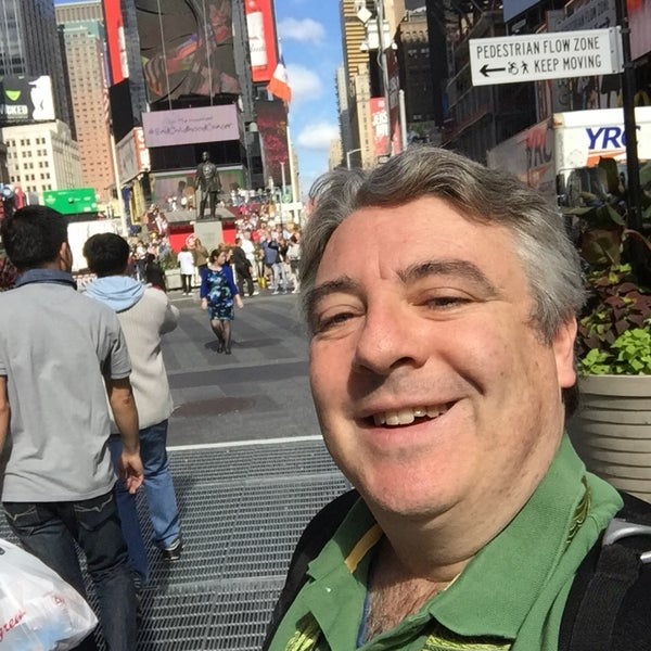 """Photo taken at Max Neuhaus """"Times Square"""" by Kevin R. on 10/4/2016"""