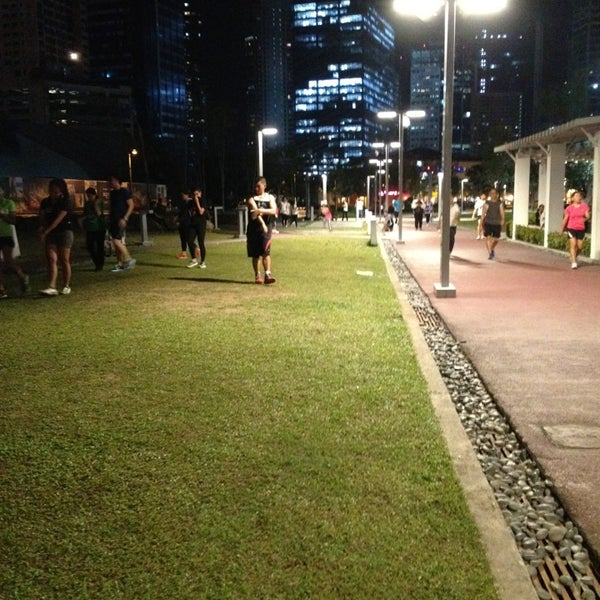 Photo taken at Bonifacio High Playground by Cheryl on 3/12/2013