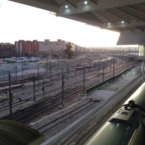 Photo taken at AVE Madrid - Barcelona by José Luis A. on 2/3/2014