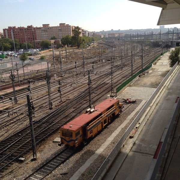 Photo taken at AVE Madrid - Barcelona by José Luis A. on 10/28/2013