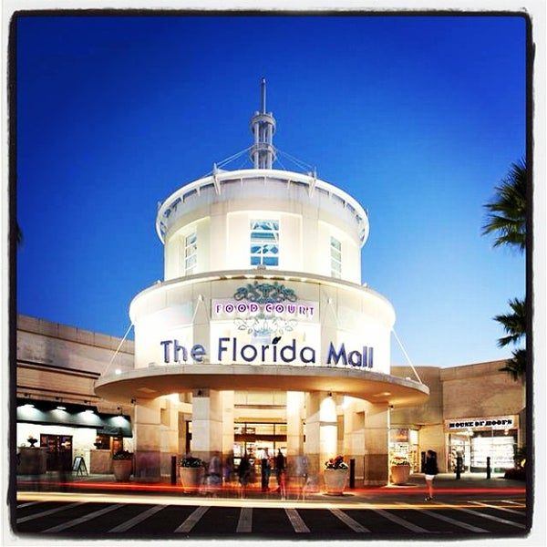 The Florida Mall is a super regional enclosed shopping mall located south of Orlando in unincorporated Orange County, Florida, on the southeast corner of Orange Blossom Trail .