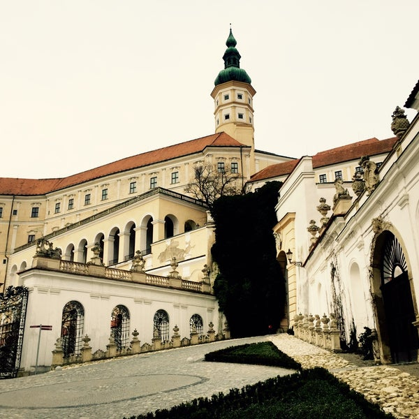 Photo taken at Zámek Mikulov by Kukuřice on 2/28/2016