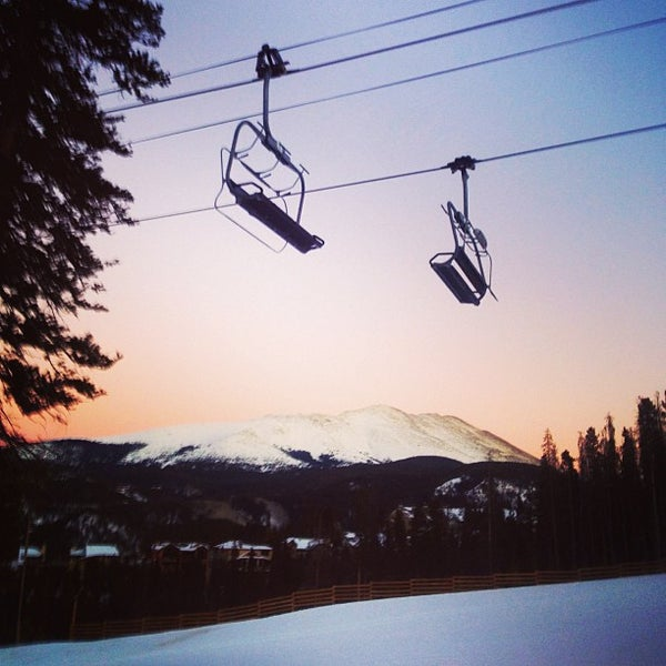 Photo taken at Breckenridge Ski Resort by Pat F. on 1/18/2013