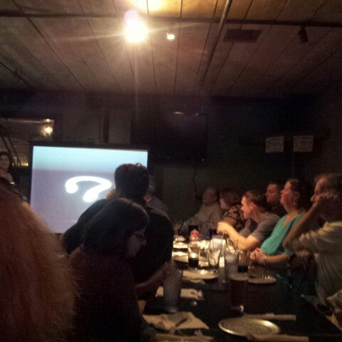 Once a month they hoast a Science on Tap talk and they are so much fun! It's a great way for me (someone without a science background) to get some science! And some great pizza!