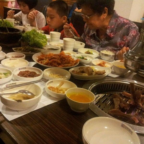 Photo taken at Daorae Korean BBQ Restaurant by gary l. on 4/4/2014