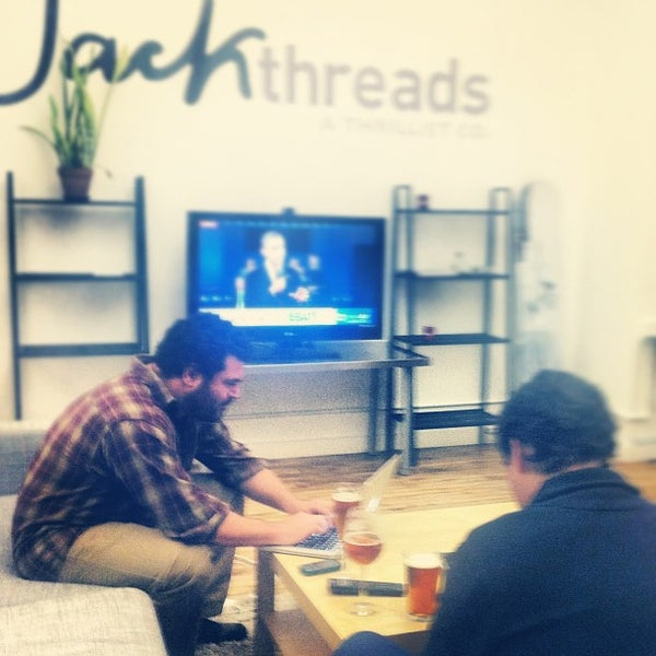 Photo taken at Thrillist HQ by Lindsay K. on 10/17/2012