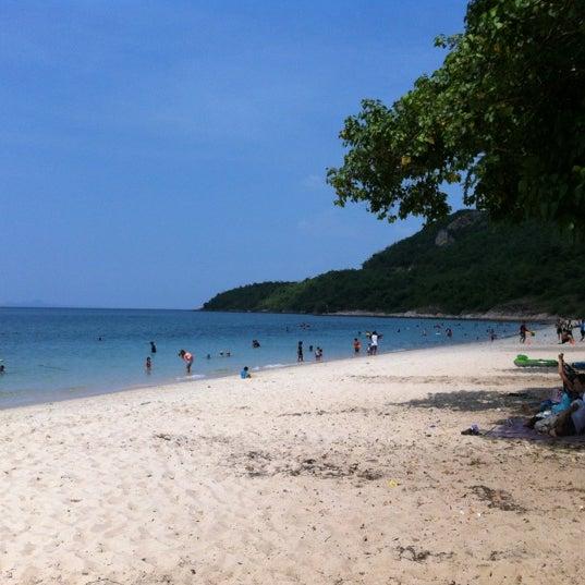 Photo taken at Sai Keaw Beach by Ignat on 10/28/2012