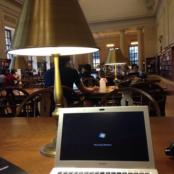 Photo taken at Widener Library by Tom M. on 5/12/2014