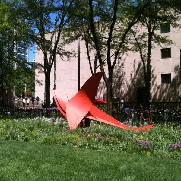 Photo taken at Sculpture Garden - Art Institute of Chicago by Melanie M. on 5/24/2013