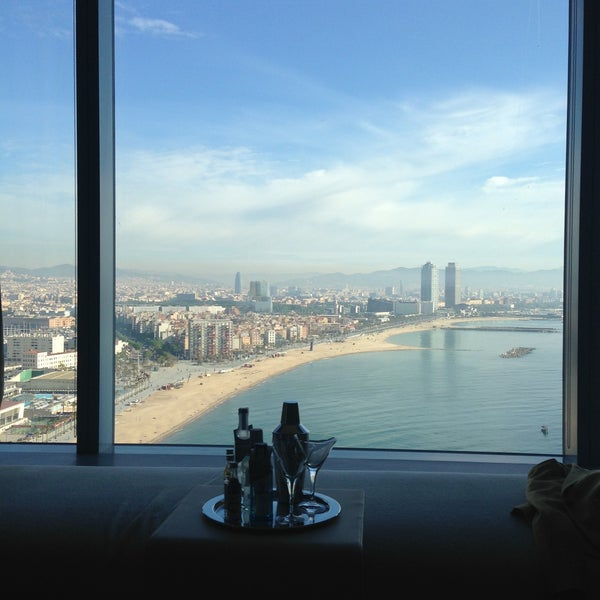 Photo taken at W Barcelona by Lily K. on 5/8/2013