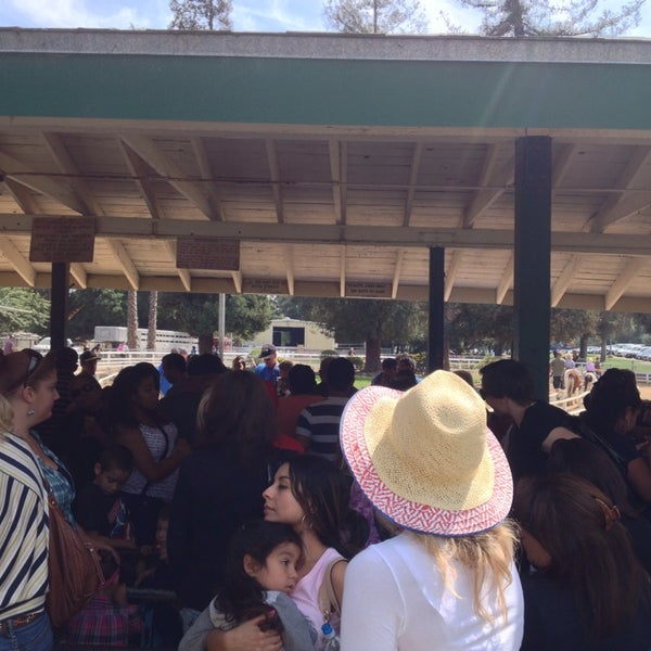Photo taken at Griffith Park Pony Rides by Filiberto G. on 3/23/2014