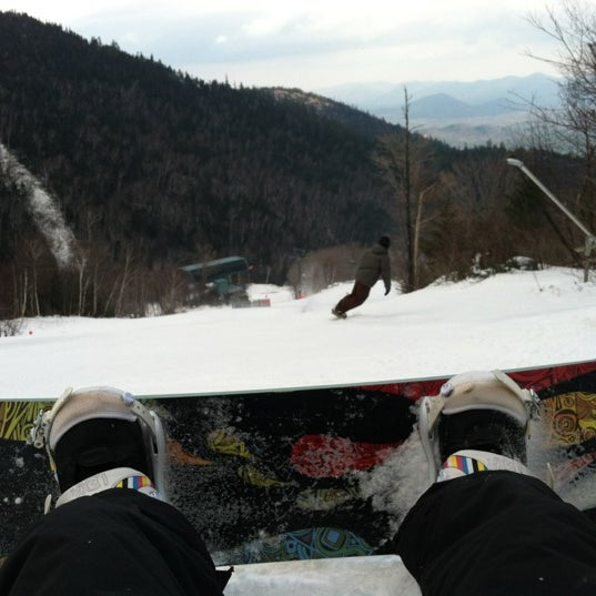 Photo taken at Whiteface Mountain by Lindsey on 12/14/2012