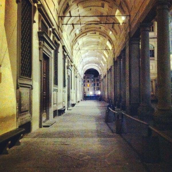 Photo taken at Galleria degli Uffizi by Andrea on 9/30/2012