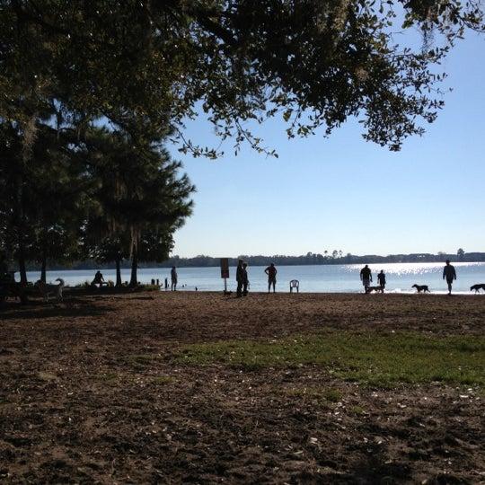 Post Lake At Baldwin Park: Lake Baldwin Park