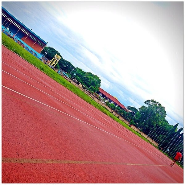 Photo taken at Iloilo Sports Complex by Jeffrey T. on 7/25/2014